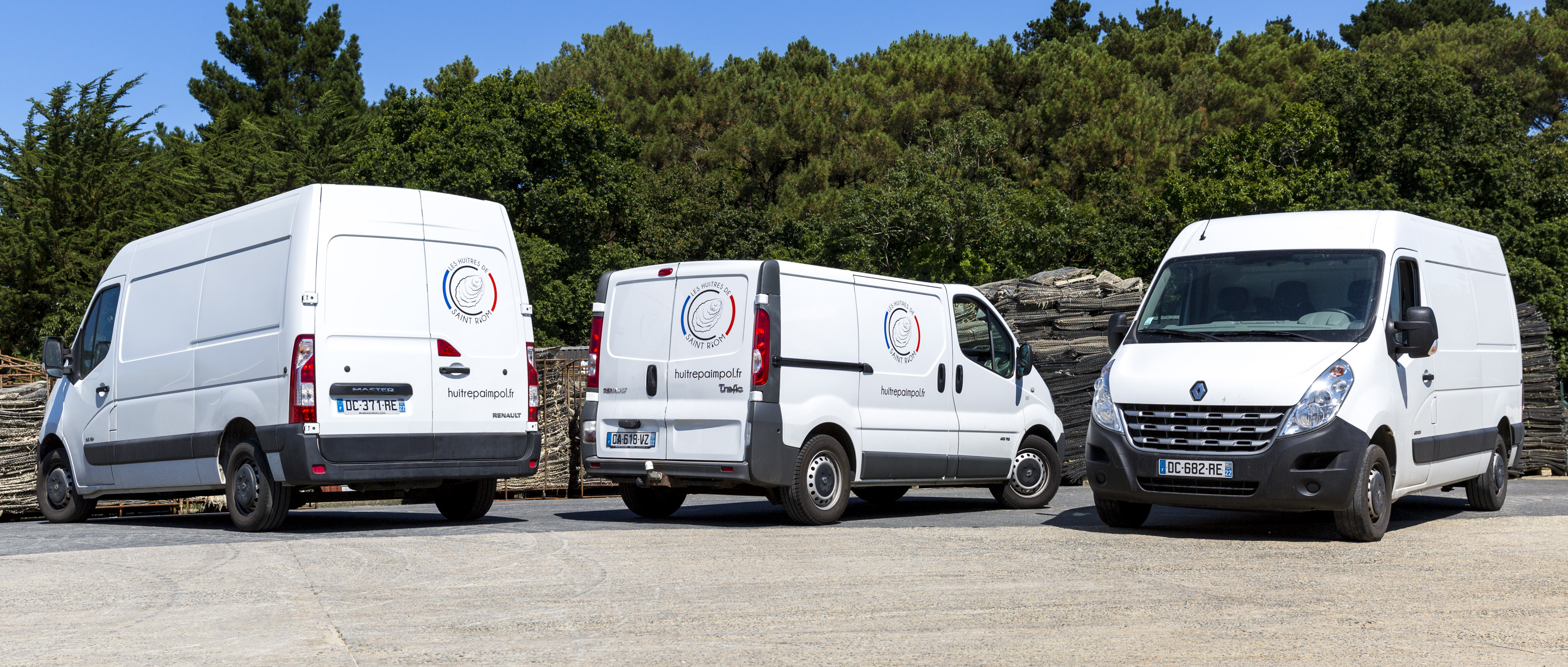 Camions - Huîtres de Saint-Riom