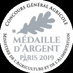 Médaille d'argent Paris 2019 - Concours général agricole