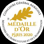 Médaille d'or Paris 2020 - Concours général agricole